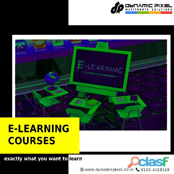 Best E learning courses in Delhi/ Ghaziabad