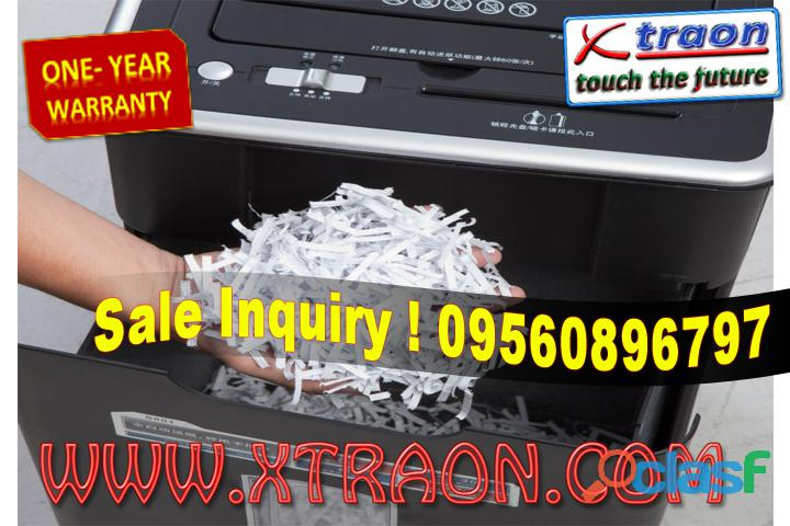 Paper Shredder Machine Service in Delhi 1
