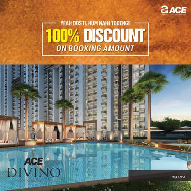 Buy 2 BHK Apartments at Ace Divino in Greater Noida West
