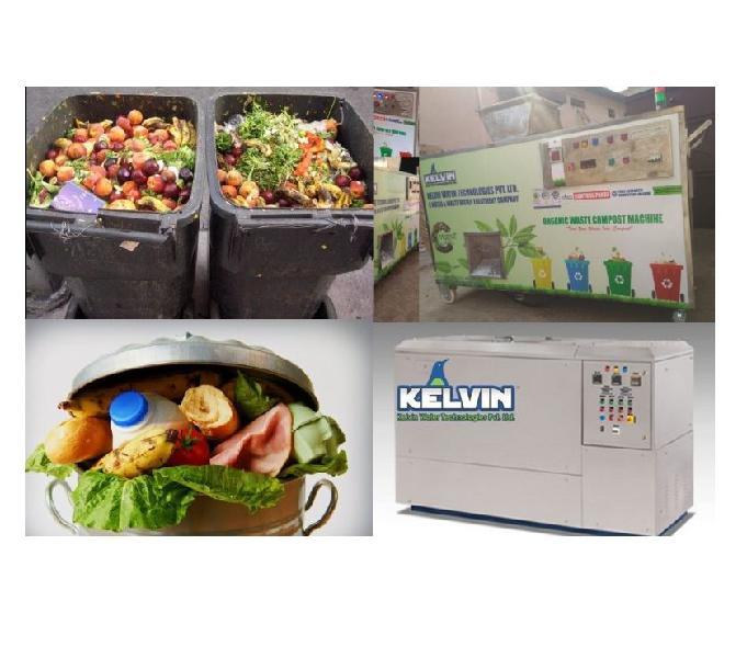 Kelvin-organic waste converter machine