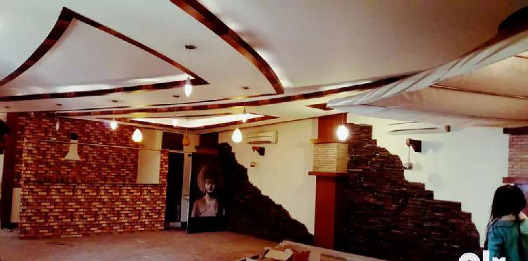 Cafe bar restaurant used 2000 sqft space available plz call