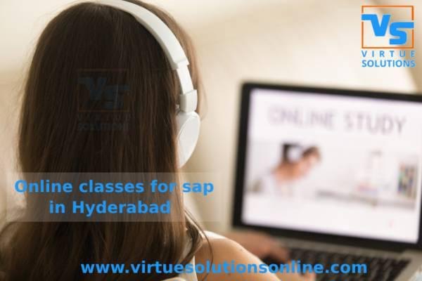 Online sap classes in hyderabad - lessons & tutoring