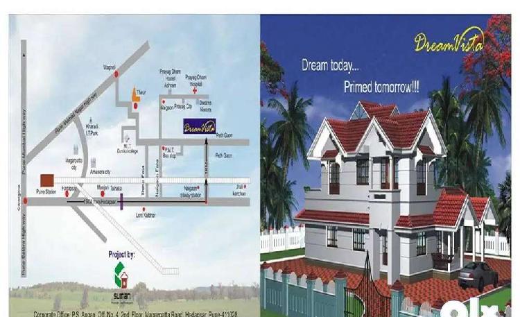 Opportunity to buy 1000 sq ft in kunjirwadi, solapur road