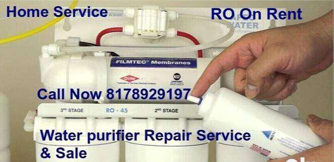 Water purifier on rent & sale, repair service