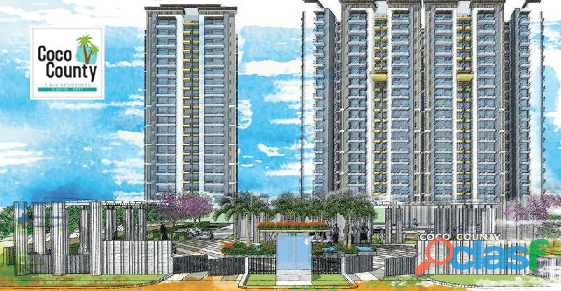 Coco County   3 BHK Premium Apartments in Noida Extension