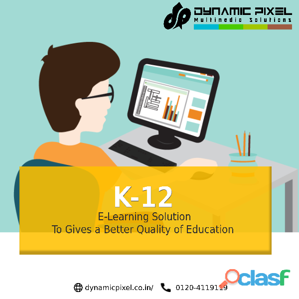 K 12 learning solutions development in india