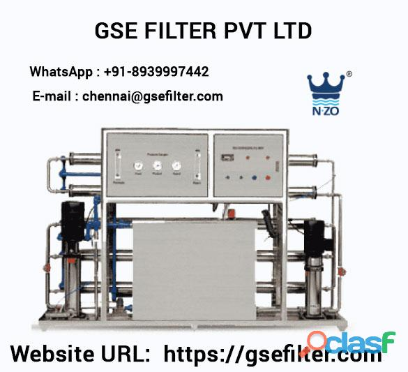 RO Plant Manufacturers In India   GSE FILTER PVT LTD