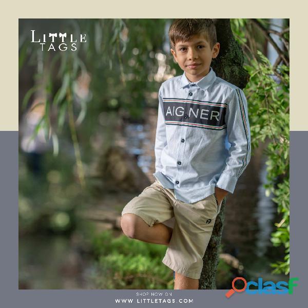 Best quality designer shirts for boys