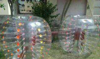 Bubble football suit