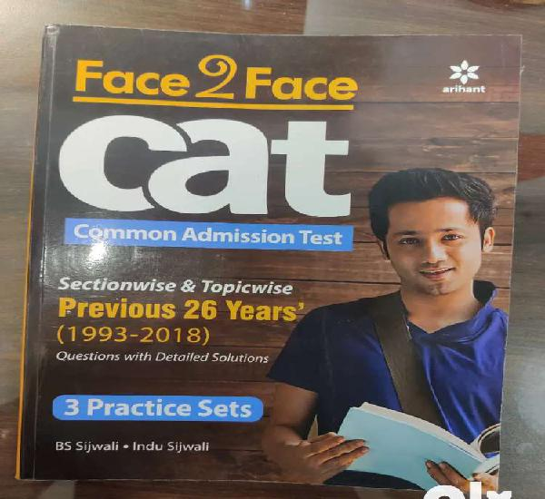 Cat past question papers arihant in brand new condition