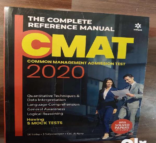 Cmat past question paper arihant in excellent condition