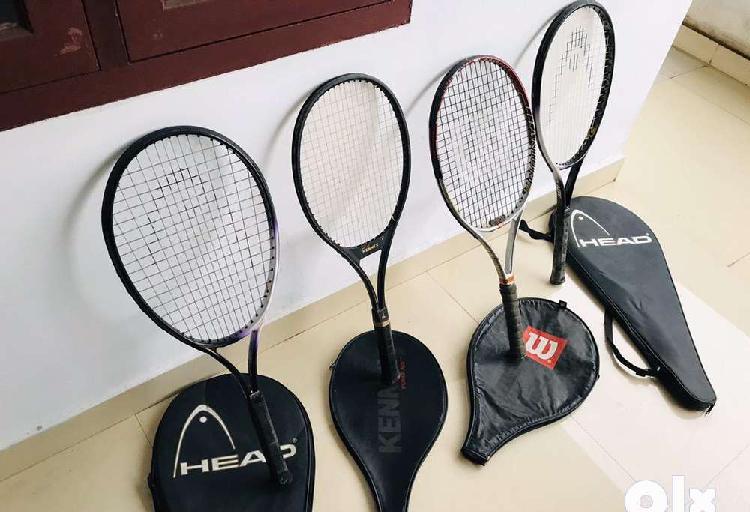 Original tennis rackets