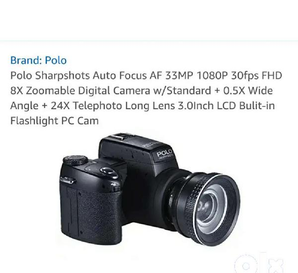 Polo sharp shots auto focus camera