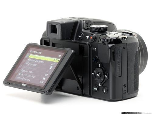 Selling nikon coolpix p510 point and shoot digital camera
