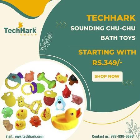 Techhark sounding chu-chu bath toys - toys & games - by