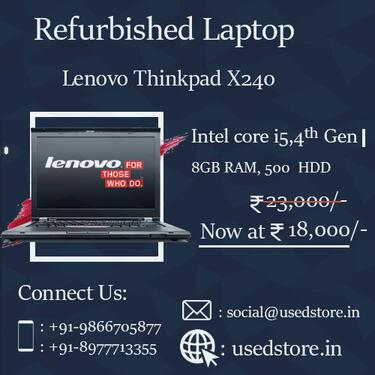 Refurbished lenovo thinkpad x240 laptop
