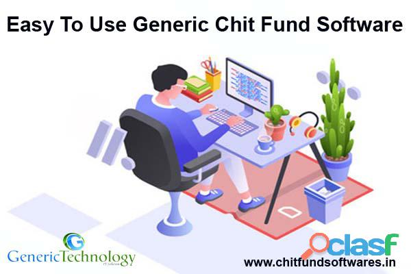 Easy To Use Generic Chit Fund Software