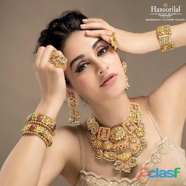 Hazoorilal Gemstone jewellery design