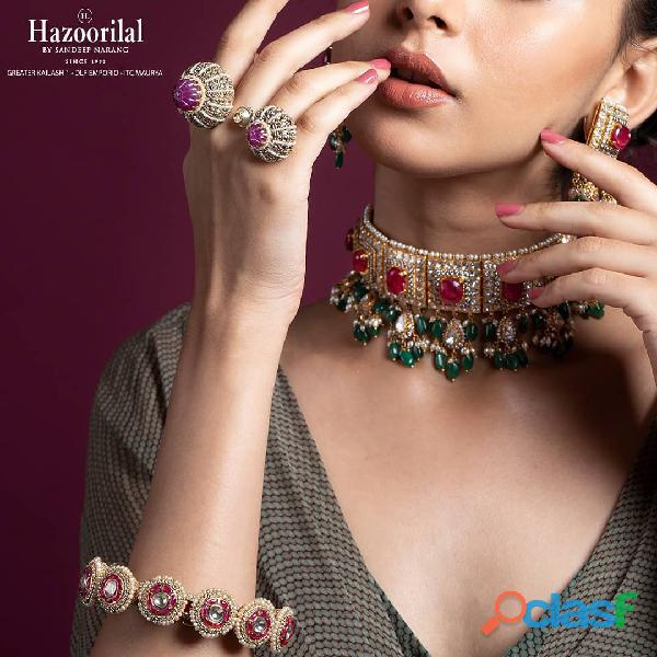 Hazoorilal Gemstone jewellery in delhi