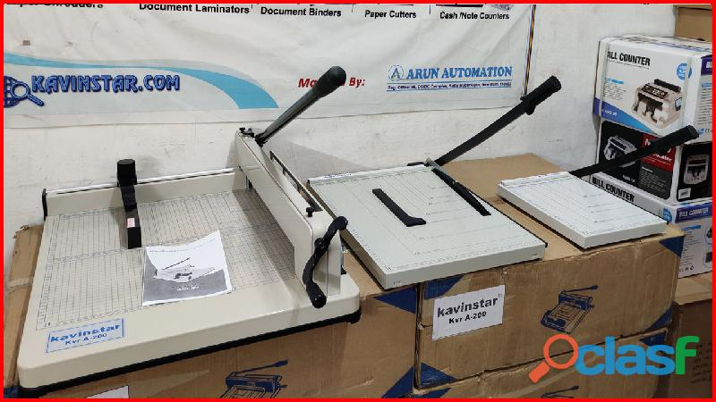 Paper cutter machine price in mathura