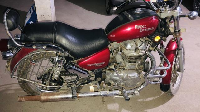 2012, royal enfield thunderbird 350 disc self