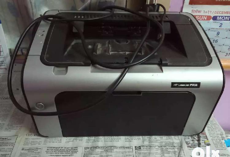 Hp laser jet p1108 monochrome multifunctional printer