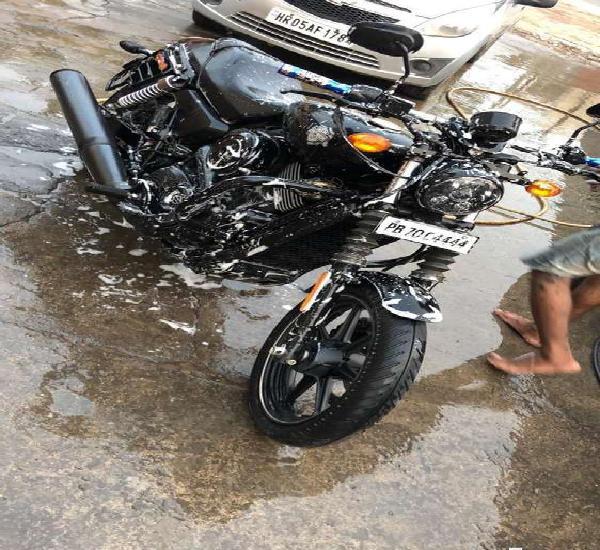 Harley davidson 750 cc brand new condition.. pb vvip number