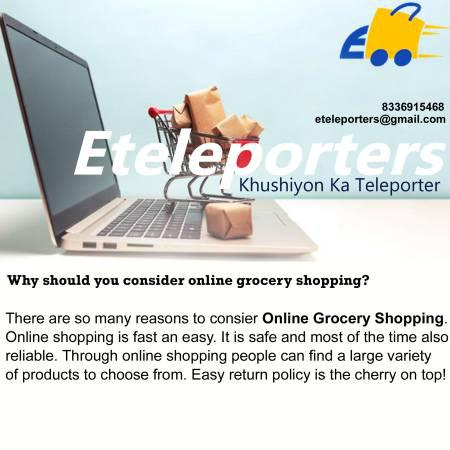 Online grocery store & your shopping experience - health and