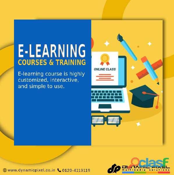 Best concept of e learning courses in Ghaziabad, India