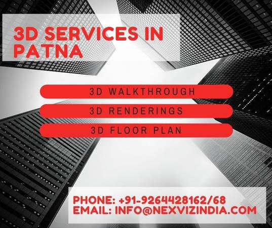 3d services in patna by nexviz services pvt. ltd. - real