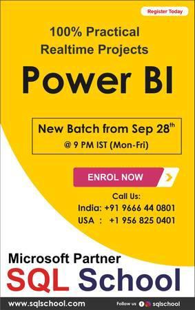 Best power bi training at sql school. - lessons & tutoring