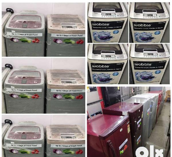 With 5 year warranty washing machine // fridge available