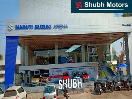Buy new arena car at shubh maruti jabalpur dealership