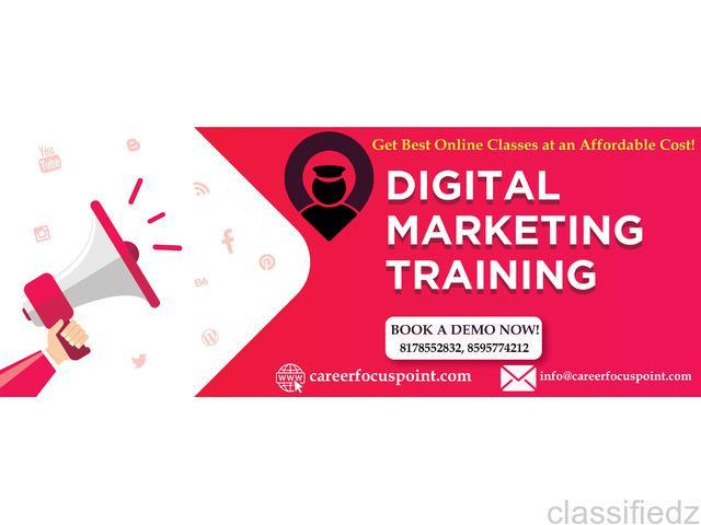 Online digital marketing training institute | career focus
