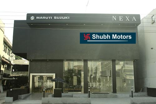 Shubh motors - leading nexa maruti showroom in jabalpur
