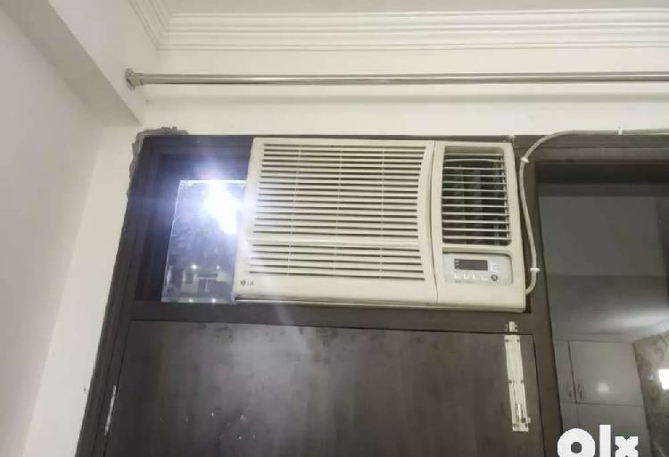 Window ac available.