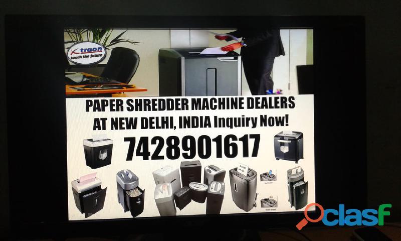 Paper shredder machine dealer in delhi