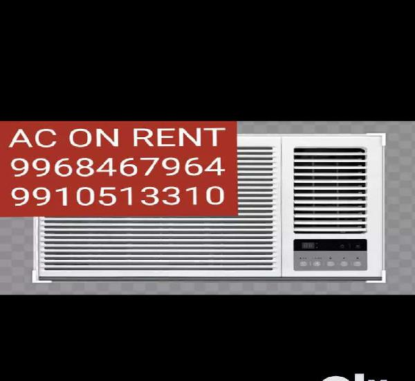All brand ac are available for rent window and split