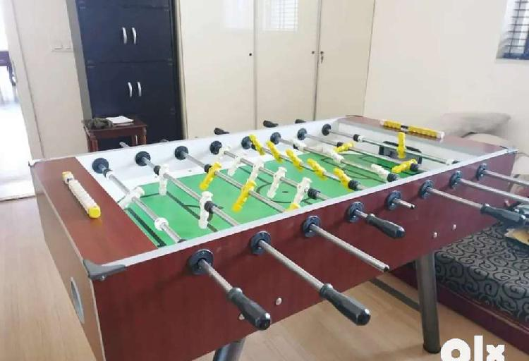 Almost new foosball table