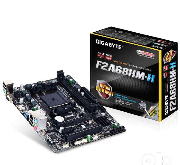 Ga-f2a68hm-s1 durable motherboard with fdedicated audio