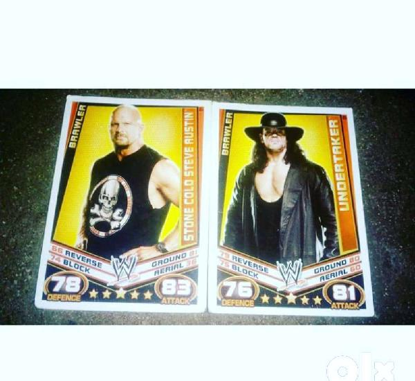 Wwe slam attack cards for sale