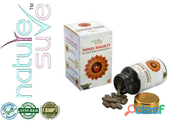 Buy Nature Sure™ Mind Shakti Tablets in India
