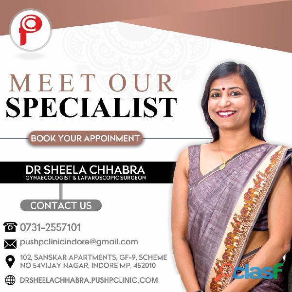 Dr Sheela Chhabra   Laparoscopic Gynaecologist