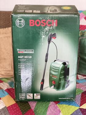 Bosch aquatak car bike washing device