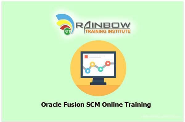 Oracle fusion scm online training   oracle fusion scm
