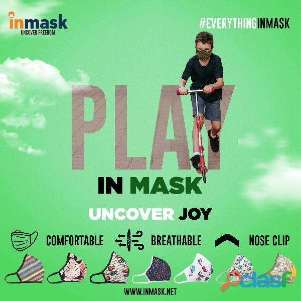 Cotton Face Mask for Men