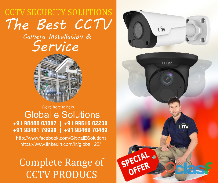 Your local cctv company we offer fast, professional and exceptional services commercial cctv install
