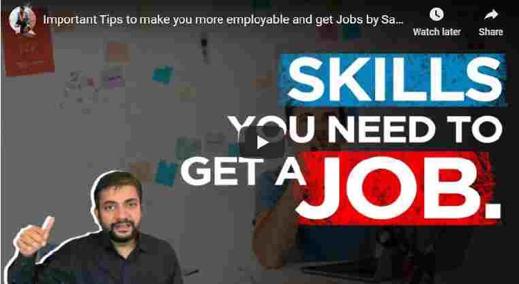 Important tips to make you more employable and get jobs by