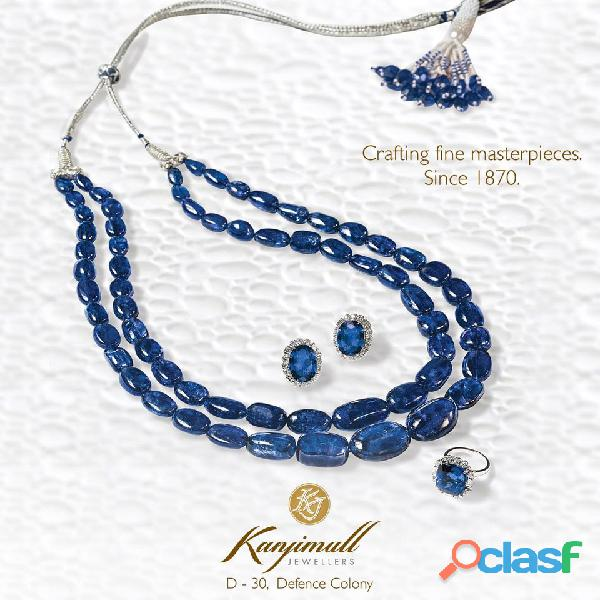 Creating the most beautiful precious jewellery in Delhi