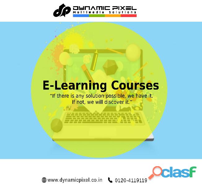 E Learning Courses development company